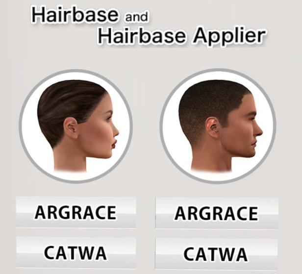argrace hairbase