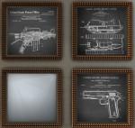 hipster bullet frames