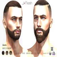 i.mesh - Bento Beard#9 AD brw