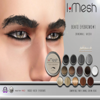 i.mesh - BENTO Eyebrows#1 AD