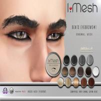 i.mesh - BENTO Eyebrows#1 AD