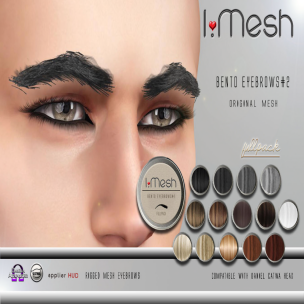 i.mesh - BENTO Eyebrows#2 AD