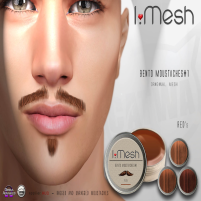 i.mesh - BENTO Moustaches#1 - red ad
