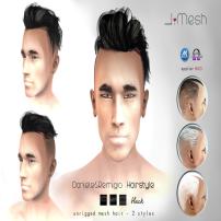 i.mesh - Dan&Rem hair BLACK AD