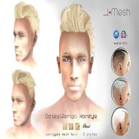 i.mesh - Dan&Rem hair BLOND AD