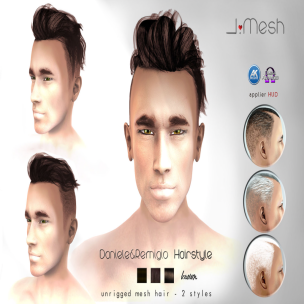 i.mesh - Dan&Rem hair BROWN AD