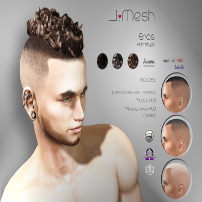 i.mesh - Eros hair brown ad