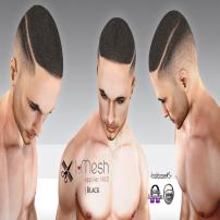 i.mesh - hairbase#5 BLACK ad