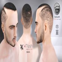 i.mesh hairbase#6 BLACK ad