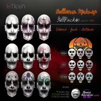 i.mesh - Halloween make-up - Full AD