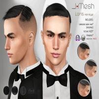 i mesh LorisHair BLACK AD