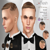 i.mesh LorisHair BROWN ad