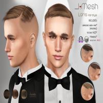 i.mesh LorisHair BROWN ad