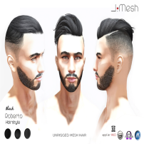 i.mesh - Roberto Hair BLACK ad