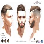 i.mesh - Roberto Hair BROWN ad