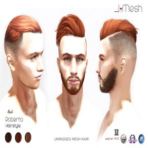 i.mesh - Roberto Hair RED ad