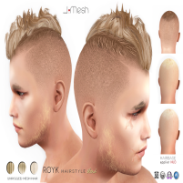 i.mesh - Royk hair Blond AD