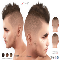 i.mesh - Royk hair Brown AD