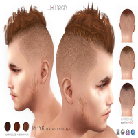 i.mesh - Royk hair Red AD