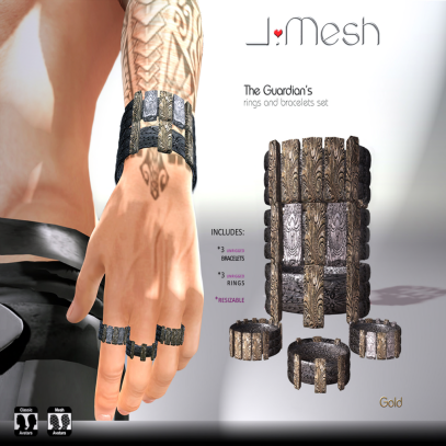 i.mesh - The GUARDIAN's bracelets AD