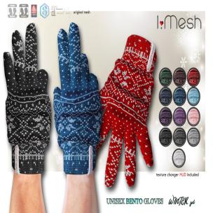 i.mesh - unisex BENTO Gloves1 AD