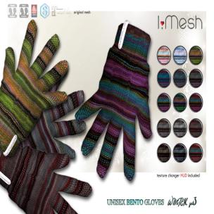 i.mesh - unisex BENTO Gloves3 AD
