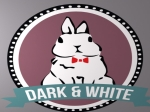 dark and white logo