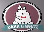 dark and white logo