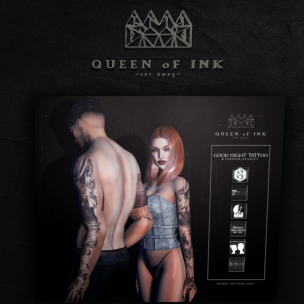 20181112 QUEEN OF INK