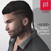 -FABIA- Mesh Hair _Akado_