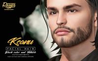 keanu facial hair