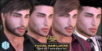 lucas facial hair