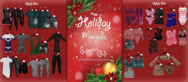 mangula subscriber gift