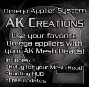 heads ak omega