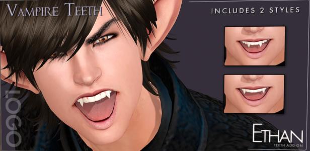 logo ethan vampire teeth