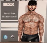 20190208 The Men Jail FCUK SOPRANO SHAPE