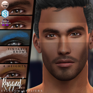 20191009 Manly Monday _Birth_ 'Rugged' Eyebrow Appliers Advert
