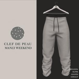 20191009 Manly Monday Clef de Peau- Rick Pants AD - Oct 12th