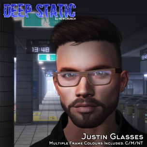 20191009 Manly Monday DEEP STATIC - Justin Glasses Ad (1024)