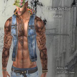 20191009 Manly Monday E.Storm Marcus Vest