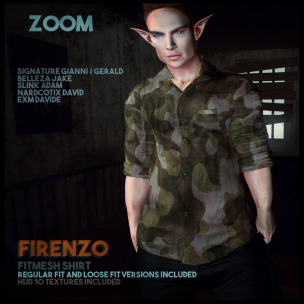 20191009 Manly Monday zOOm---Firenzo-Shirt