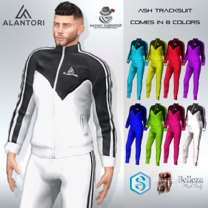 20191122 Manly Weekend ALANTORI - Ash Tracksuit in 8 Colors - Manly Weekend