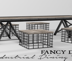 20191122 Manly Weekend IndustrialTable by Fancy Decor