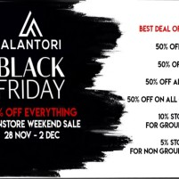 20191129 Black Friday Sales alantori