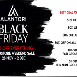 20191129 Black Friday Sales alantori