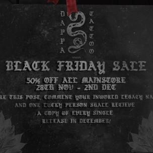 20191129 Black Friday Sales Dappa