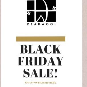 20191129 Black Friday Sales Deadwool