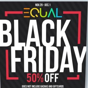 20191129 Black Friday Sales Equal
