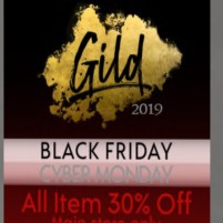 20191129 Black Friday Sales gild
