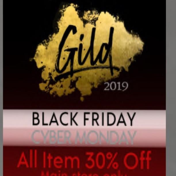 20191129 Black Friday Sales gild